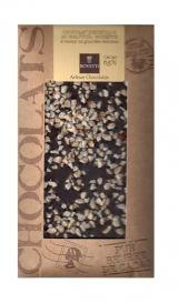 Bovetti 100g. Ciocolata dietetica neagra 65% cacao, alune