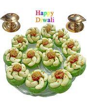 Diwali Special Offer Kaju Cross Shape Sweets 250 gm. Merge in the ambrosial taste of Cashews.