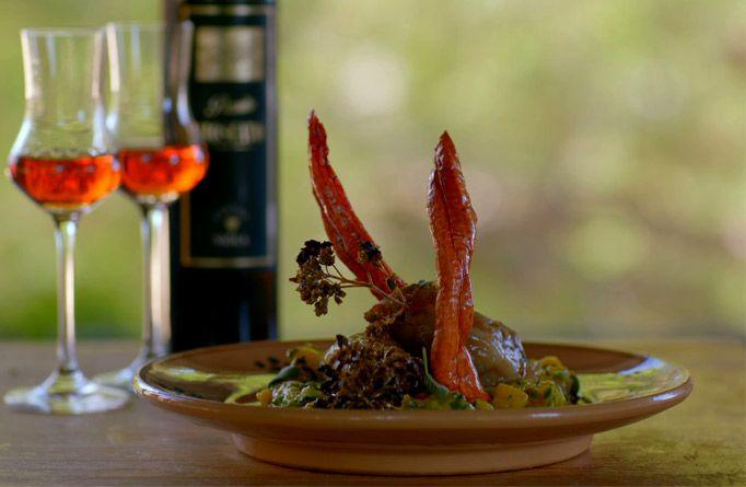 Francesco Mazzei • The Wine Show - liver recipe