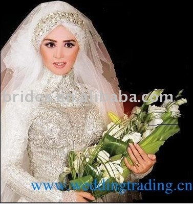 Islam wedding dress