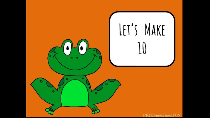 Introduce all the ways to add together to make 10. This free math lesson is perfect for preschoolers, kindergarteners and 1st graders learning their math f