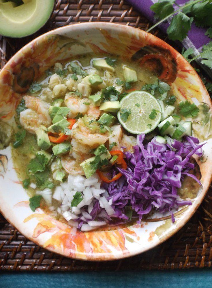 Posole Verde de Camarón (Shrimp Posole)