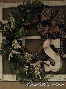 a wreath on an old window screen, crafts, repurposing upcycling, seasonal holiday d cor, wreaths