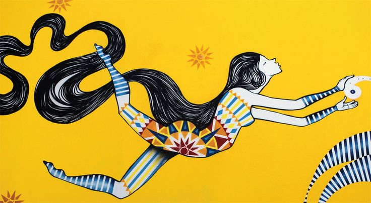 Grafites incríveis de Jana Joana e Vitché. Inspire-se! | Jana Joana & Vitché | Pinterest | Street Art, Street artists and Drawings