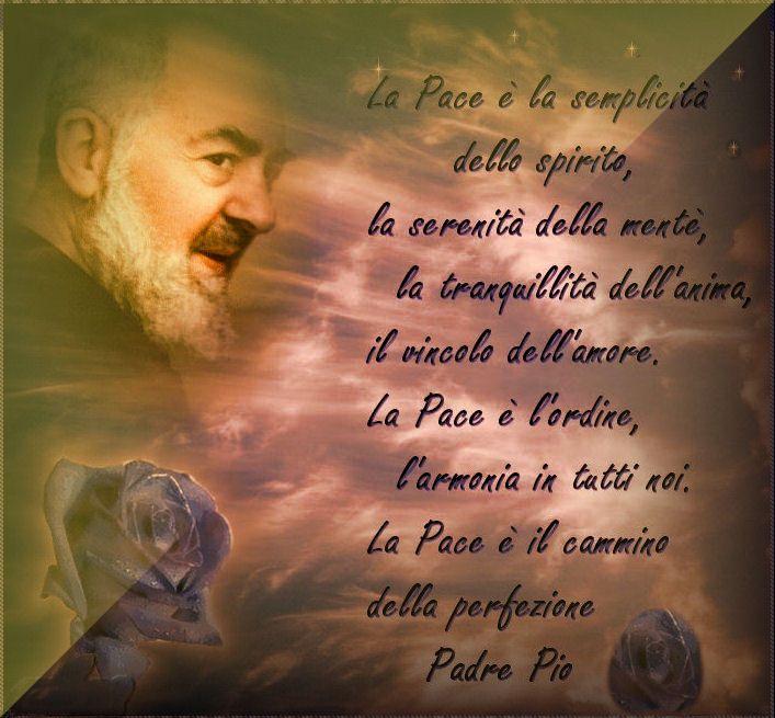 Padre Pio sulla Pace...