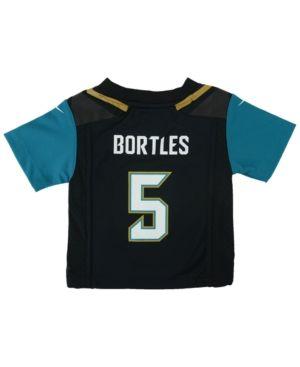 Nike Babies' Blake Bortles Jacksonville Jaguars Game Jersey - Black 24 months