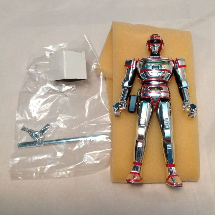 Bandai Space Sheriff Juspion Chogokin GC 25 Popy Figure Sharivan Gavan Sentai | eBay