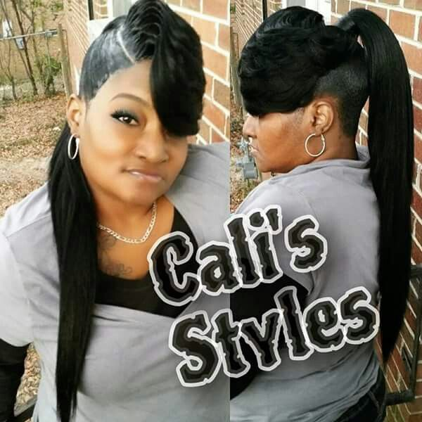 Cali S Styles Ponytail Styles Pretty Ponytails Quick