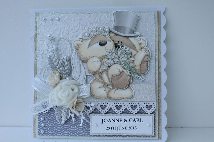 Fizzy Moon Wedding card