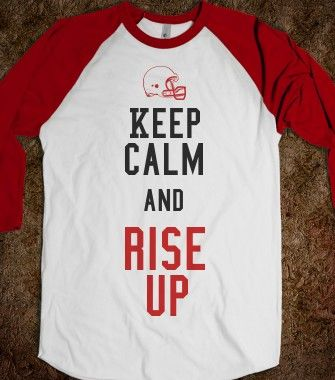 Falcons game day shirt
