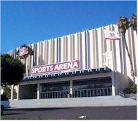 San Diego Sports Arena. Home of the San Diego Soccers!