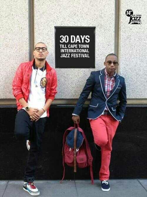 2 of SA's hottest rappers - AKA and Khuli Chana .... Tight! ♡