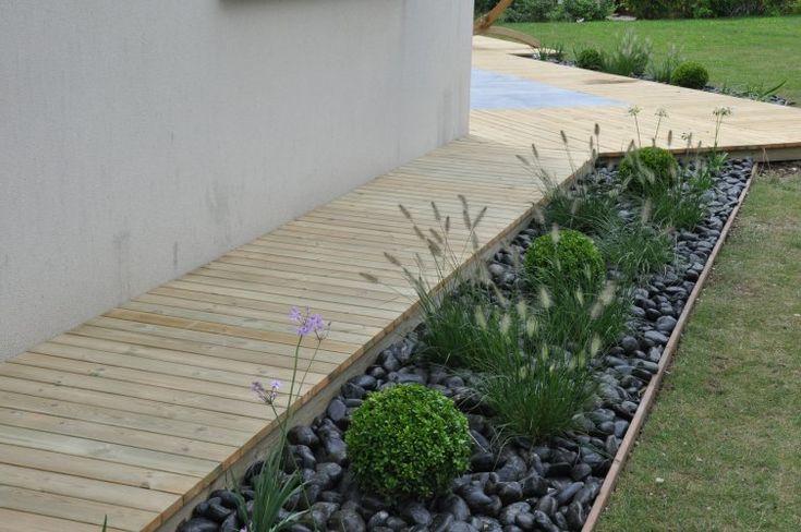 Best 25 Bordure Terrasse Ideas On Pinterest Bordure Bois Am Nagement De Paysage En Gravier