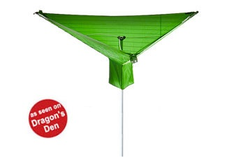 Rotary Washing Line Cover - dry your clothes outside, even if it's raining. Just pop one of these covers over your laundry, and if it starts raining, your clothes stay dry. Also great protection from bird droppings... £29.95