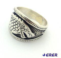 Kurt Seyit Şura (kıvanç tatlıtuğ) Erkek Yüzüğü | Gümüş alyans gümüş kolye erkek yüzükleri bileklik online alyans satış sitesi