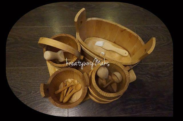 kreatywnyMaks: Nauka codziennych czynności - Montessori