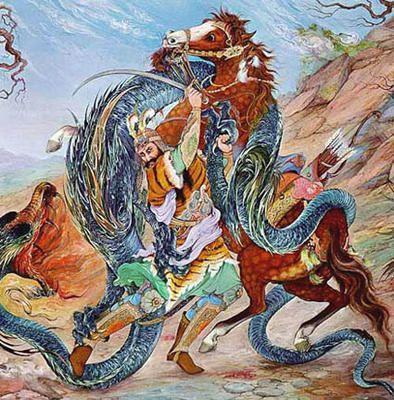 Horses on Persian Plataue