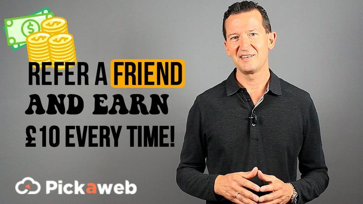 Refer A Friend To Pickaweb And Earn £10 Every Time! >==================== >https://www.pickaweb.co.uk/refer-a-friend/   You can refer as many friends as you want. Earn £10 each time a friend signs up. https://www.facebook.com/pickaweb.co.uk/photos/a.10150261837875489.342946.324896420488/10155555864785489/?type=3&theater