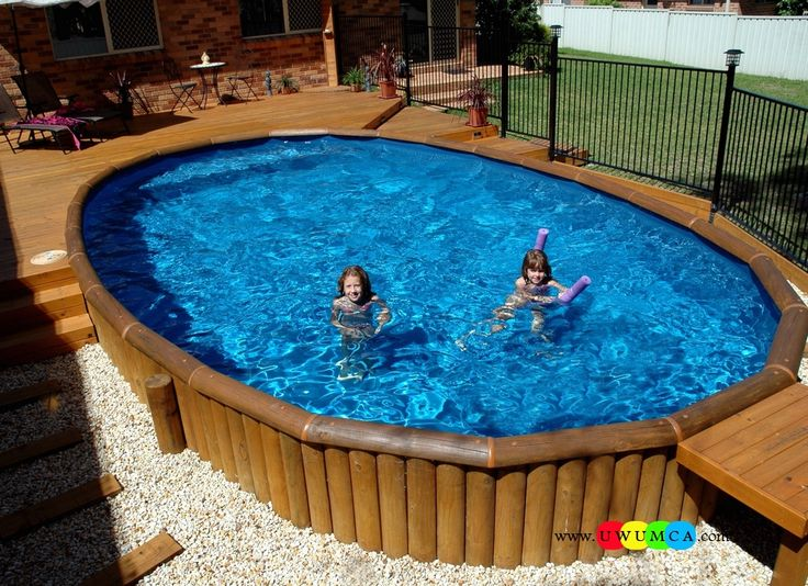 194 best swiming pool images on pinterest above ground swimming pools ground pools and Diy resurfacing concrete swimming pool deck ideas
