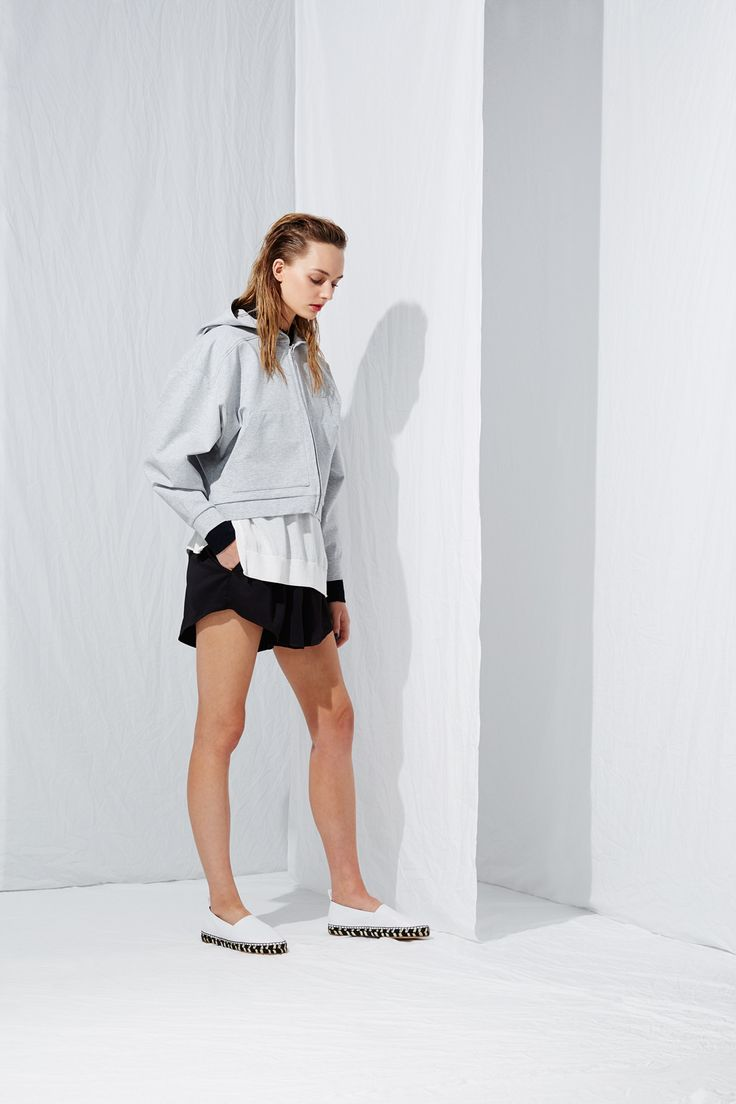 Big Hood Hoody from the latest L.W.B. collection by Australian fashion designer LIFEwithBIRD Summer'15