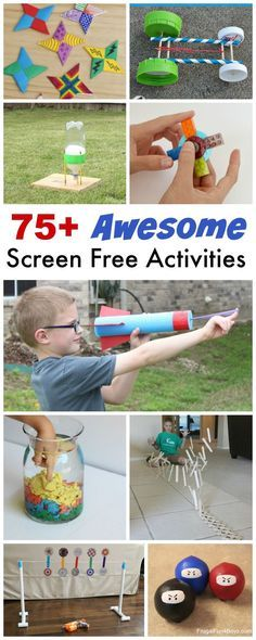 75+ Screen-Free Activities and Crafts (Perfect for ages 8-12!)