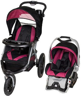 Make Life On The Go Simple With The Baby Trend Expedition Glx Travel System In The Soda Pop Style Which Includes A 32 Lb Ez Flex Loc Fix
