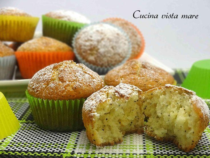 Muffin ai semi di papavero Cucina vista mare