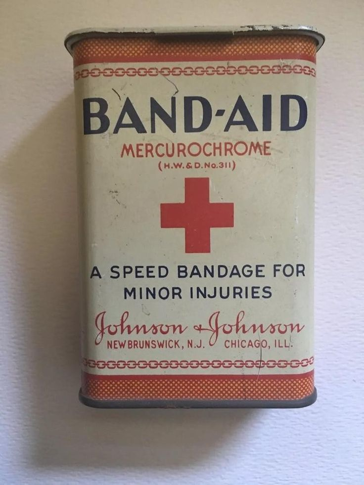 $67 Rare colorful 1930's Band Aid tin in very good used vintage condition. This tin is so hard to find that there isn't even one pictured on the official Band Aid website! If you ever come across another
