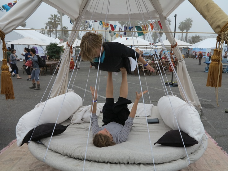 46 best hanging beds chairs tents images on pinterest for Outdoor hanging beds for sale