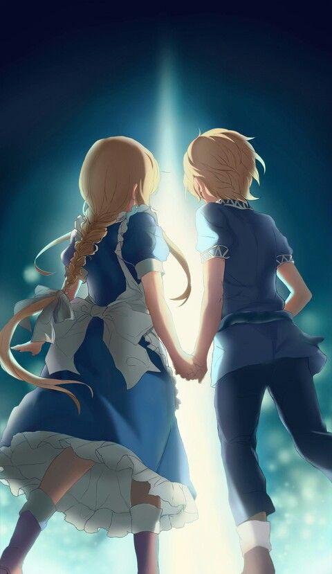 Alice & Eugeo   Alicization   Underworld   Sword Art Online   #SAO   Anime