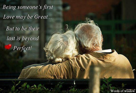 Growing old together..............