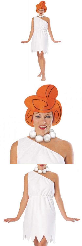 Women Costumes: Wilma Flintstone Costume Adult The Flintstones Cavegirl Halloween Fancy Dress -> BUY IT NOW ONLY: $20.09 on eBay!