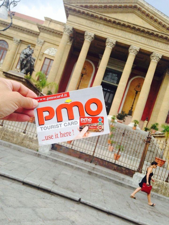 Traveling to Palermo? Get us a Peek... www.pmocard.it info@pmocard.it