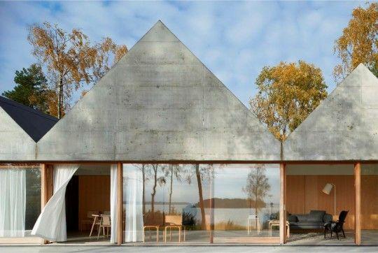 Summerhouse Lagnö, designed by Tham & Videgard Arkitekter, Sweden