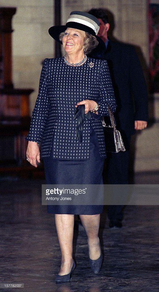 Queen Beatrix Of Holland Attends Queen Margrethe Ii Of Denmark'S 60Th Birthday Celebrations In Copenhagen.Reception At The Town Hall.