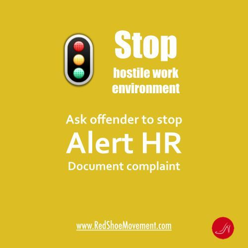 Recognizing a Hostile Work Environment can help you deal with it appropriately!