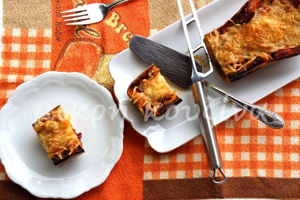 μικρή κουζίνα: Κολοκύθα γεμιστή με τυρί και παστουρμά
