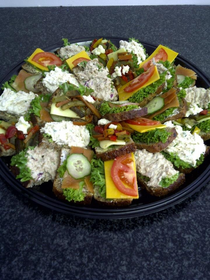 #sandwich #platter #food #catering #180degrees