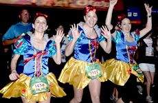 Princess Half Marathon... I've become obsessed with this and I am determined that I will be there this next one! February 22-24! It starts at Epcot and goes through the Magic Kingdom and ends at Epcot. This is my motivation when I don't want to go work out