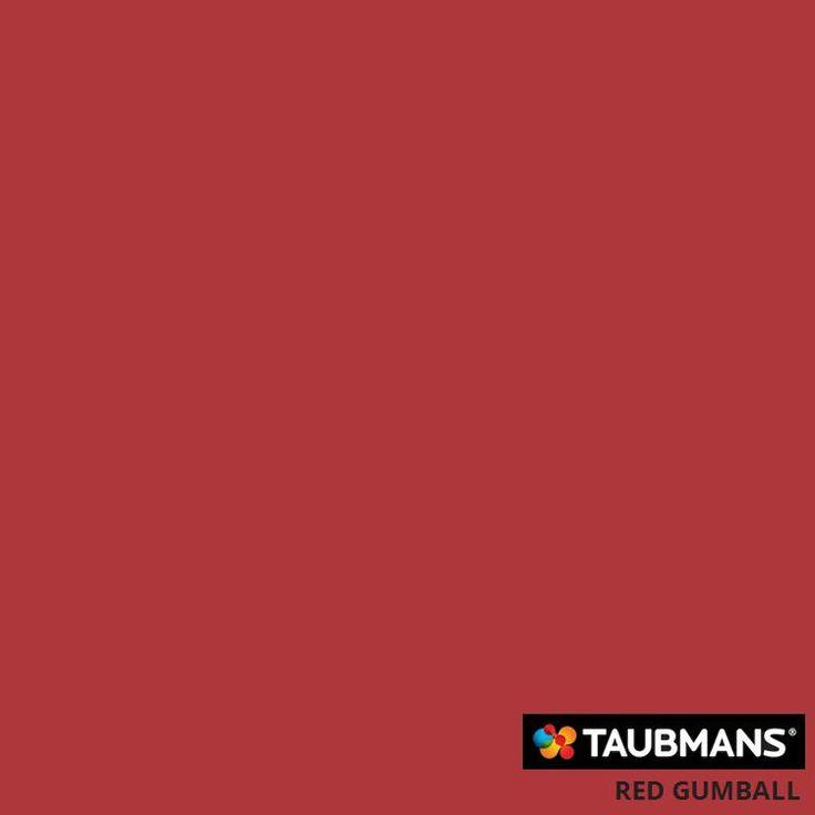 #Taubmanscolour #redgumball