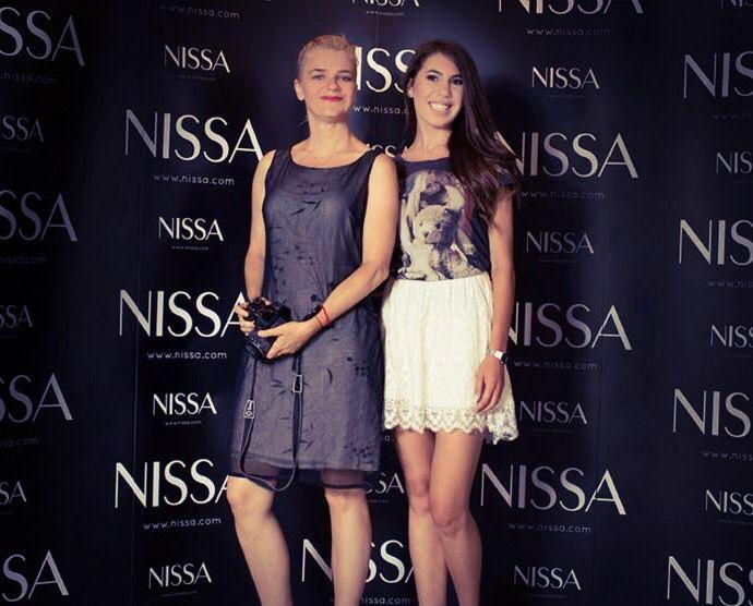 With Gianina Corondan