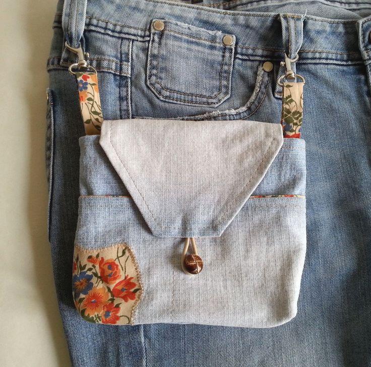 saszetka jeansowa