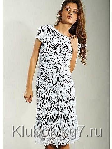 Платье из салфетки | Клубок