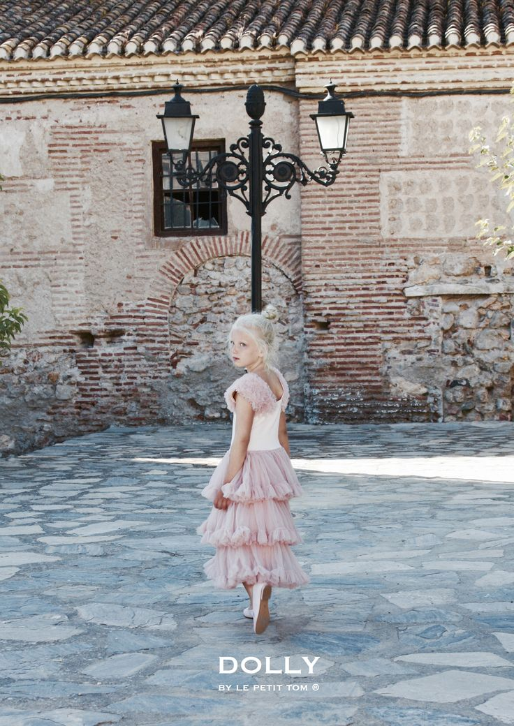 DOLLY by Le Petit Tom ® SPANISH DRESS ballet pink