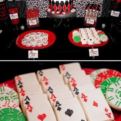 Casino Themed Birthday Party PartiesCasino Theme30th