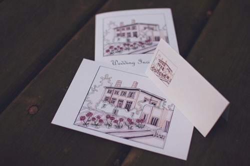 wedding stationery range