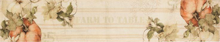 Pumpkins Farm to Table Runner