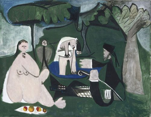 Pablo Picasso, Luncheon on the Grass (after Manet), 1960