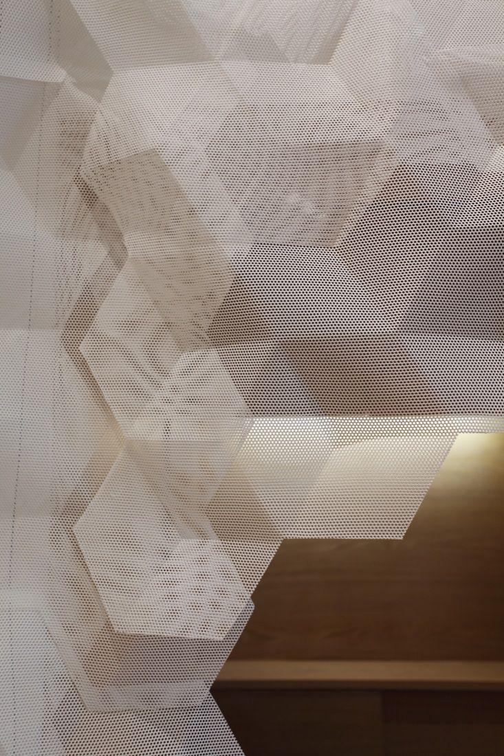 Folded fabric  Shang XIA / Kengo Kuma & Associates
