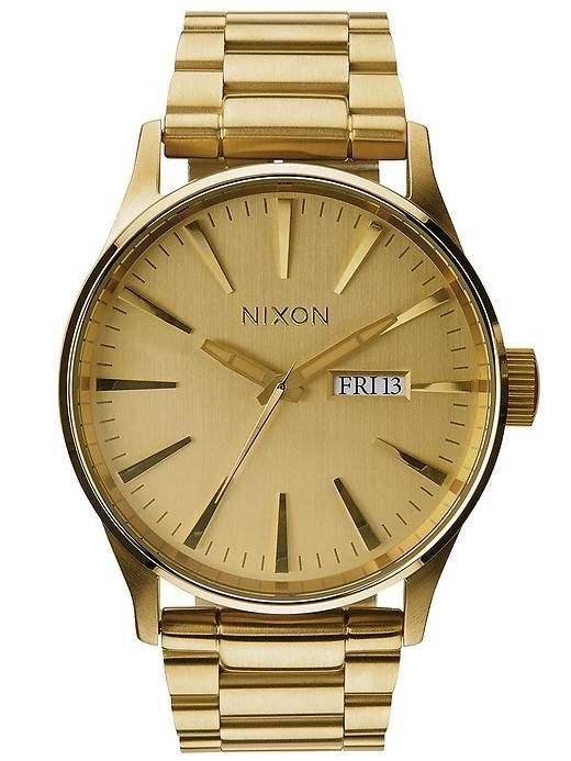 Nixon The Sentry SS - This specific Nixon is my favorite watch, ever. I saw it in Tilly's and stared at it for 3 minutes... I think.